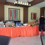 Excellent breakfast buffet