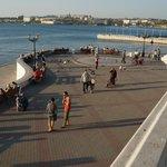 At the sea promenade