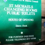 St Michael's Toilets,near to Verulamium Museum