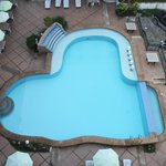 View of the Swimming Pool from our 6th Floor Condotel Unit