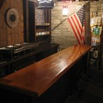 Hays House original bar