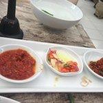 3 choices of sambal
