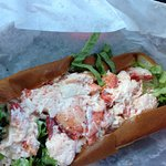 Allison's famous lobster roll