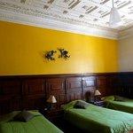 Beautiful colonial ceilings