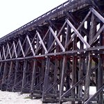 Pudding Creek train trestle, walking, biking path.