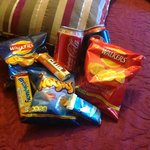 complimentary snacks replenished everyday!