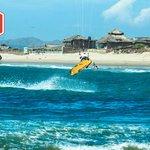 Mancora nice spot for kitesurfing