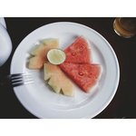 Les fruits locaux du petit déjeuner