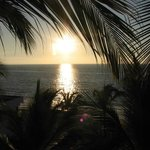 Sunset on your balcony on the 3rd floor at El Pescadore