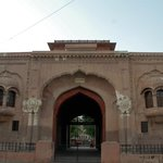 The gateway to Company Bagh