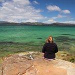 Emerald waters of Norfolk Bay