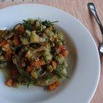 Delicious artichoke dish