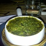 Escargot with parsley butter