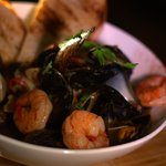 Mussel and Prawn Bowl