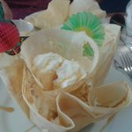 Crêpe dessert en 3D