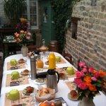 La table des petits déjeuners