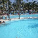 piscine du Barcelo maya beach
