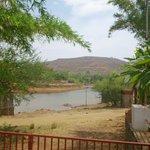 River near resort