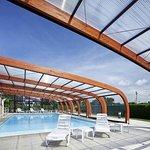 piscine couverte et chauffee