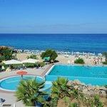Panoramica spiaggia - piscina
