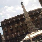 Piazza San DOmenico e l'Obelisco