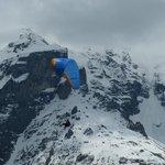 Para-Glider on Schilthorn