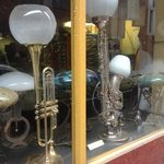 Interesting lamps sold in neighbourg.
