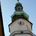 St. Michael's Tower & Street - lovely copper dome top