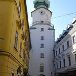 St. Michael's Tower & Street in the City Center