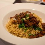 Singaporean style noodles with beef