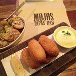 Garlic Potatoes and Tuna Croq