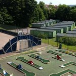 crazy golf and multi sports court