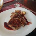 Simply delicious steak! Juicy, tender, tasty!