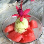 Watermelon and Cucumber Ice