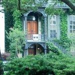 strolling through Savannah