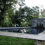 The pool at Basaga