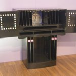 Mackintosh Writing Desk ex-Hill Head but as in the house