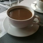 A very large and lovely 'cup' of coffee