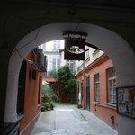 Courtyard leading from Vaclavske Namesti