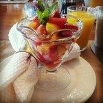 start of breakfast