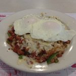 National Collision Skillet, one of the Day's Specials