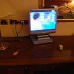 Mini televisore.... in un 3 stelle ???