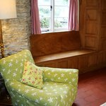 Rose Cottage, elm window seat