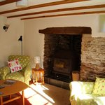 Rose Cottage log burner