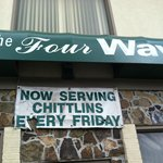 Chitlins on Friday!