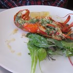 The Canner lobster with parseley butter