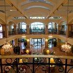 Main lobby and mezzanine