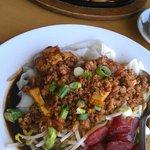 RCA noodles & Spicy Thai basil
