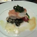 Day boat Cod fish with Escargot