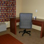 In room desk with free internet